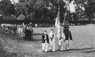 Dedication of Doubleday Field August 3, 1934