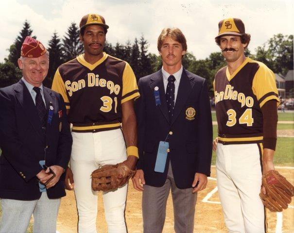 Dave Winfield and Rollie Fingers