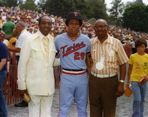 Cool Papa Bell, Rod Carew, Buck Leonard 1977